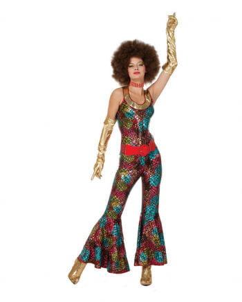 Foxy Lady Hippie Kostüm Plus Size