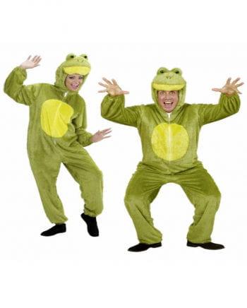 Frosch Kostüm aus Plüsch XL