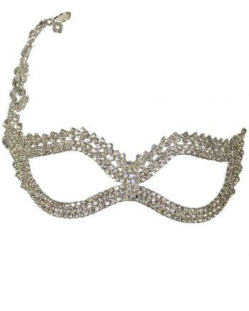 Filigree Rhinestone Eye Mask