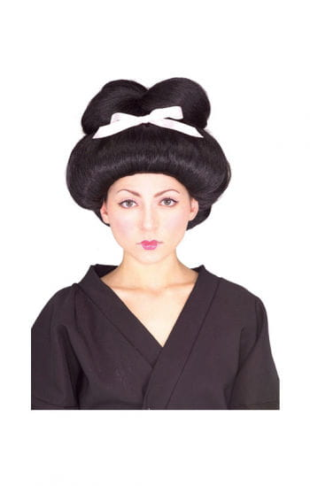 Geisha Girl Perücke Deluxe