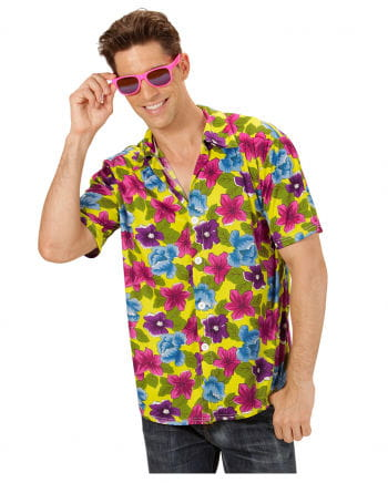 Hawaiian Shirt yellow