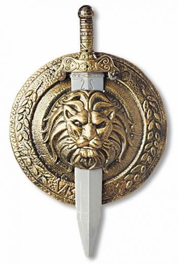 Gladiator Shield and Sword