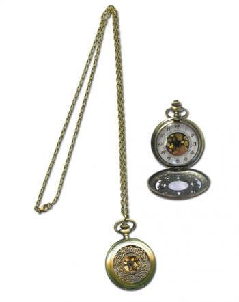 Pocket watch necklace