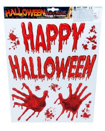 Halloween Folie blutige Hände