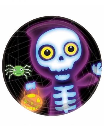 Halloween Party Plates Boo Crew