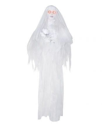 Hanging Ghost Bride Animatronic