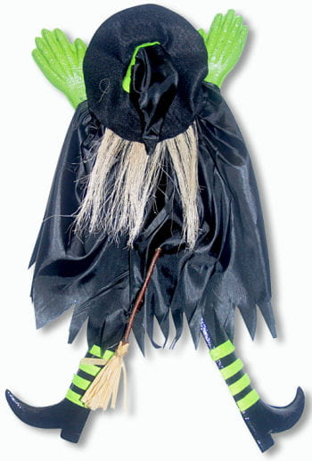 Crashed Witch Green