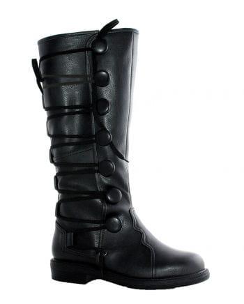 Renaissance men`s boots Black