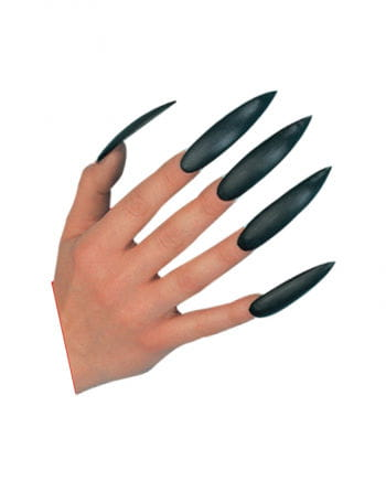 Witch Fingernails Black Self-adhesive