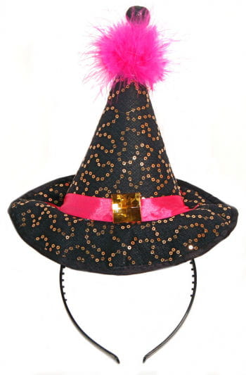 Witch Hat with Hair Band