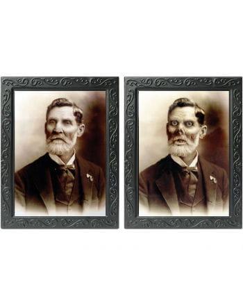 Hologramm Portrait - Großvater -