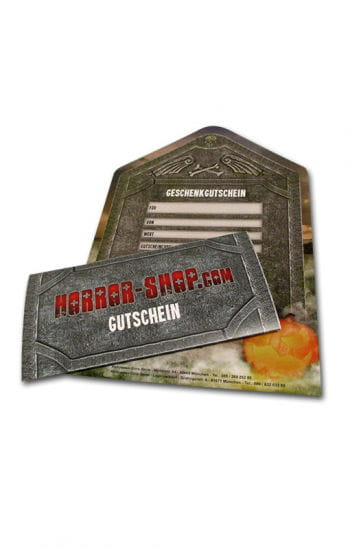 Horror-Shop.com Geschenkgutschein 20€