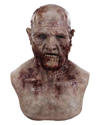 Kieferbruch Zombie silicone mask