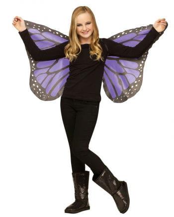 Kinder Schmetterlingsflügel Violett