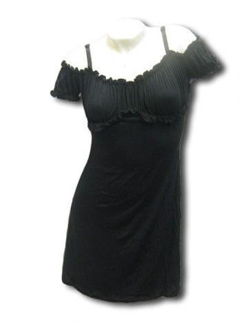 Black Gothic Summer Minidress L