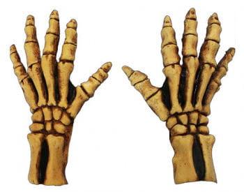 Knochenskelett Handschuhe