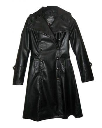 Synthetic leather uniform jacket size XL