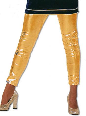 Shiny Gold Leggings XS/S 34-36