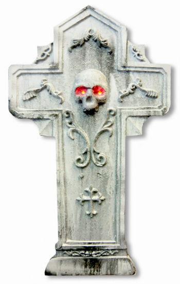 Leucht Grabkreuz