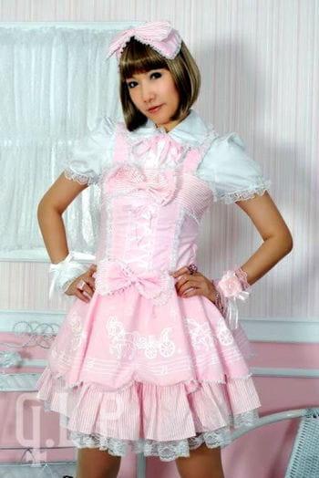 Lolita Dress Pink