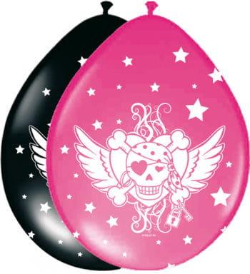 Luftballons Pirate Girl