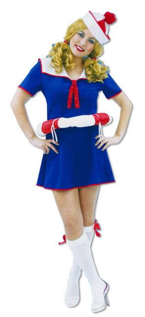 Sailor Girl Dress with Lifesaver M/L 38-40