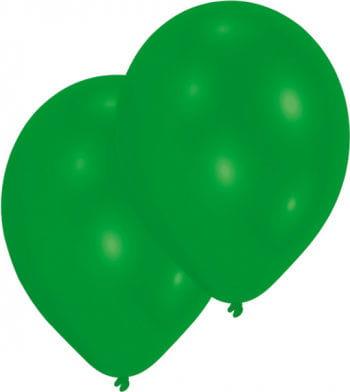 Metallic grüne Luftballons 50 St.