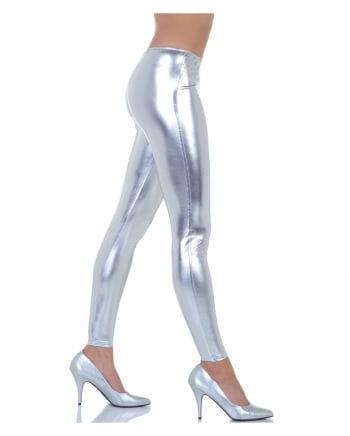 Metallic Leggings silver