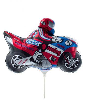 Mini-Folienballon Motorrad