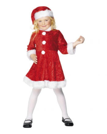 Mini Miss Santa costume