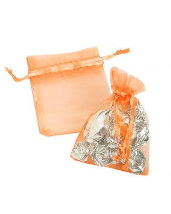 Mini Organza Säckchen orange 25 St.