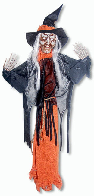 Mini Witch with Orange Robe