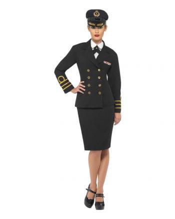 Navy Officer Damen Verkleidung
