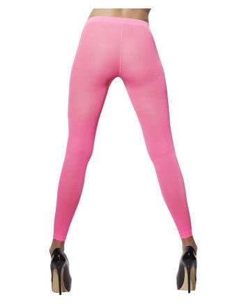 Neon pink leggings
