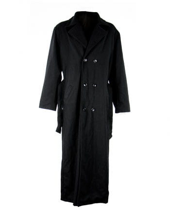 Nosferatu wool coat black