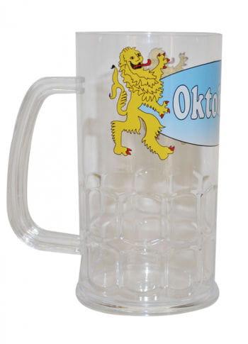 Oktoberfest Plastik Bierkrug