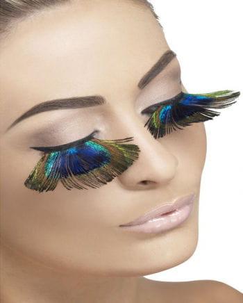 peacock eyelashes