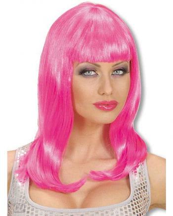 Pinke Katy Wig