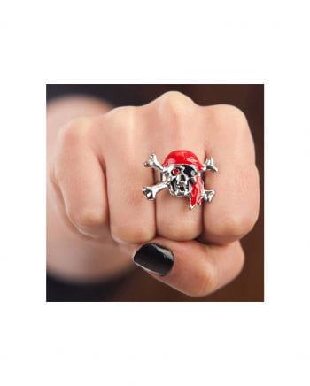 Piraten Totenkopf Ring