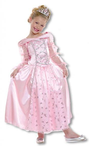 Prinzessin Kinderkostüm mit Diadem M M