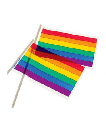Rainbow flags St. 12 15 x 10 cm