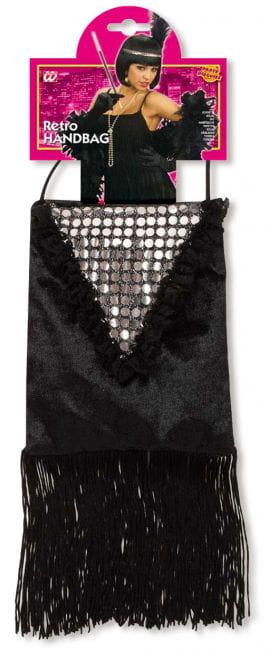 Retro Handbag with Fringe