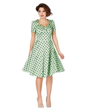 50er Jahre Polka Dot Kleid
