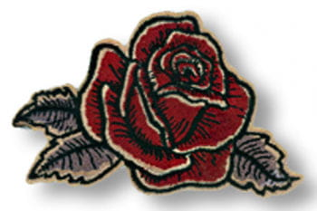Rose Antique patch right