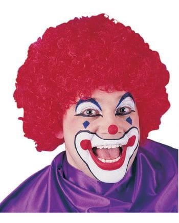 Clown-Perücke Faschingsperücke Rot