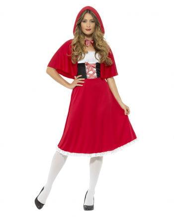 Rotkäppchen Kostüm mit Kapuze