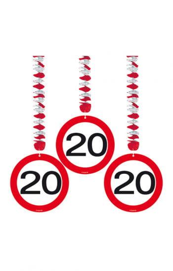 Rotor spiral road sign 20