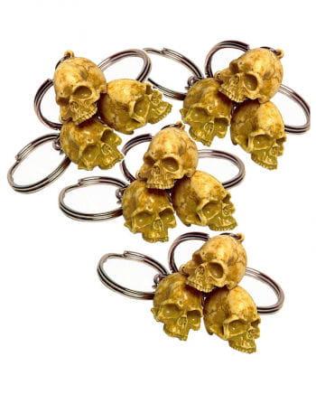 Schlüsselanhänger Rotten Skull