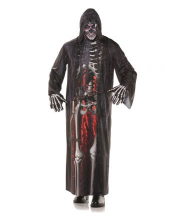 Grim Reaper Robe mit Fotodruck