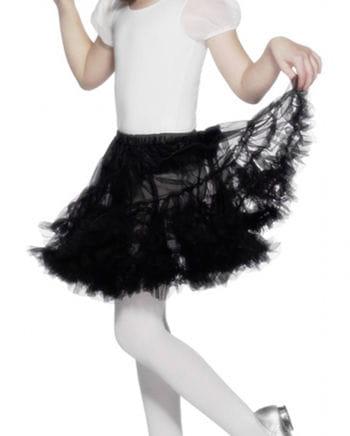 Black petticoat for girls